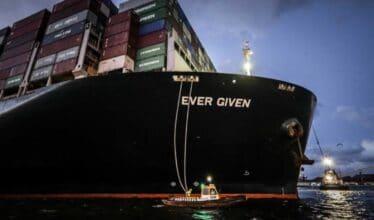 Canal de Suez - Ever given - navio - atração turística